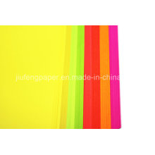 Superb Uncoated Wood Pulp Dyed Color Paper Fold Paper